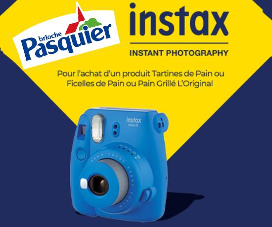 Appareils Photos Polaroïd Instax de la marque Pasquier
