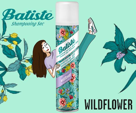 Shampoing Sec Wildflower de la marque Batiste