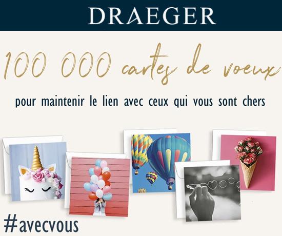 Cartes de Vœux Offertes de la marque Draeger Paris