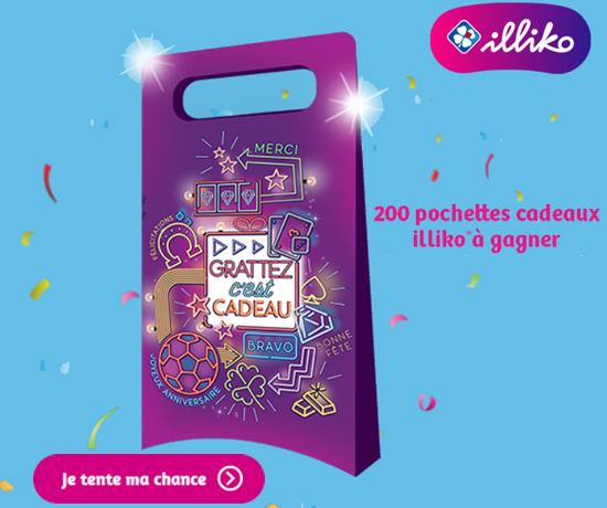 Participez au Grand Jeu illiko et remportez des pochettes cadeaux