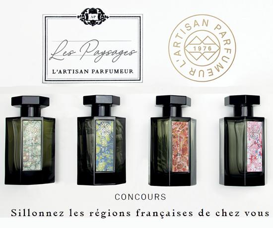 Participez au Grand Jeu de L'Artisan Parfumeur et remportez une collection de parfums Les Paysages