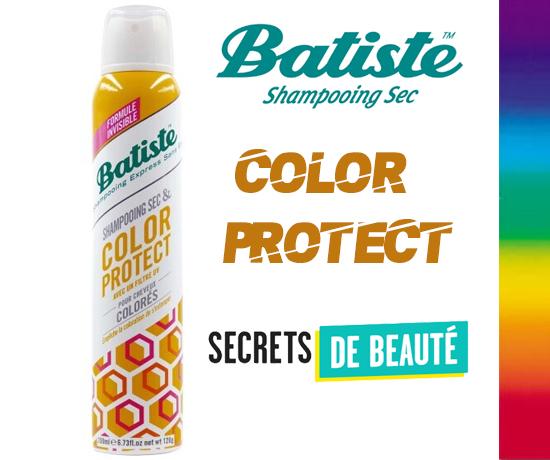Shampoing Sec Color Protect de la marque Batiste