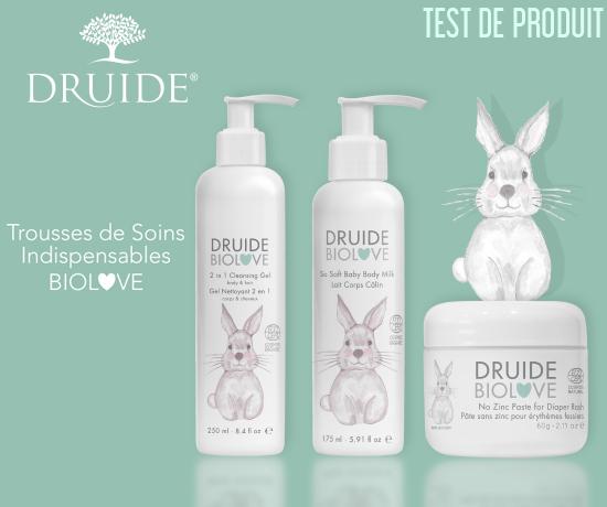 Trousse de Soins Indispensables BioLove de la marque Druide