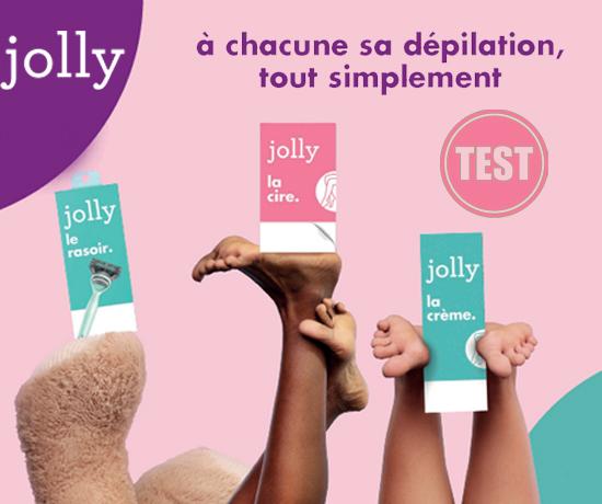 Pack Esthétique Cire, Rasoir et Crème de la marque Jolly