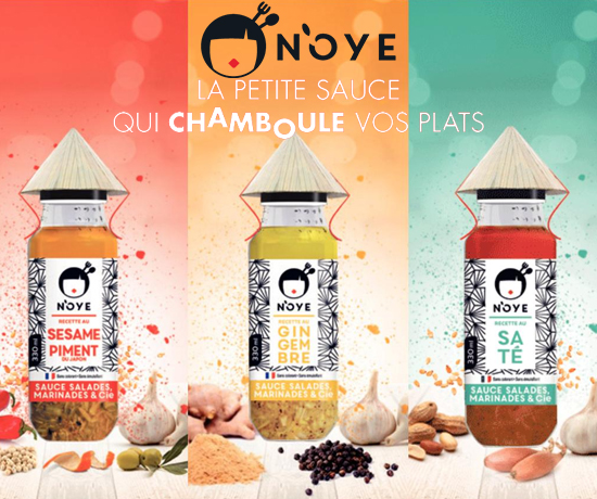 Sauces Asiatiques de la marque N'OYE
