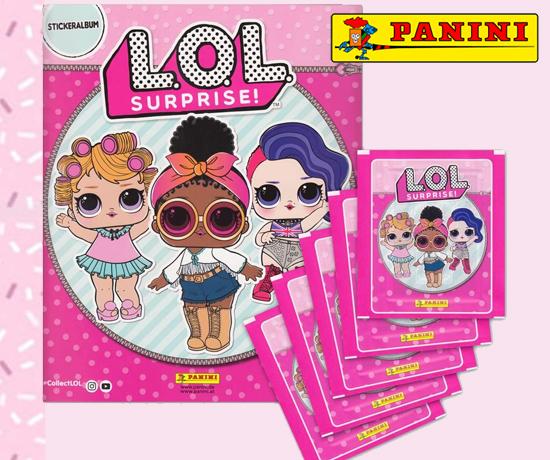 Participez au Grand Jeu Panini et remportez un album et des stickers L.O.L
