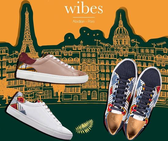 Baskets éco-responsables et haut de gamme de la marque Wibes