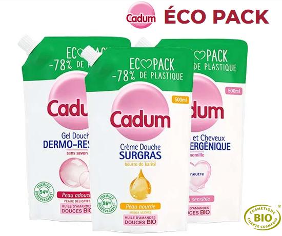 Éco Pack pour douche de la marque Cadum