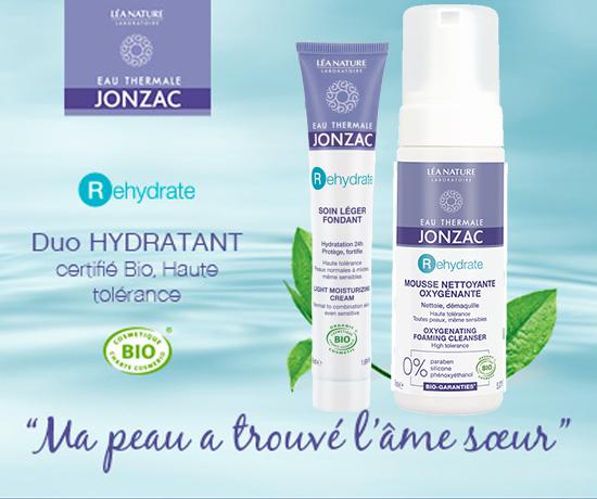Duo Rehydrate Eau Thermale Jonzac des Laboratoires Léa Nature