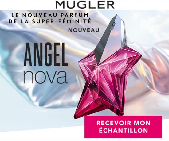 Échantillons Parfums Angel Nova de la marque Thierry Mugler