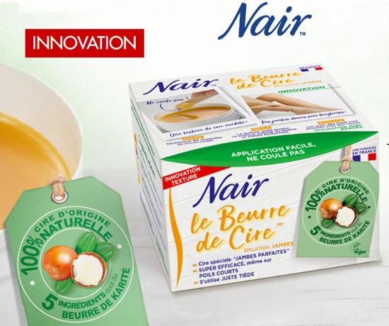 Le Beurre de Cire de la marque Nair