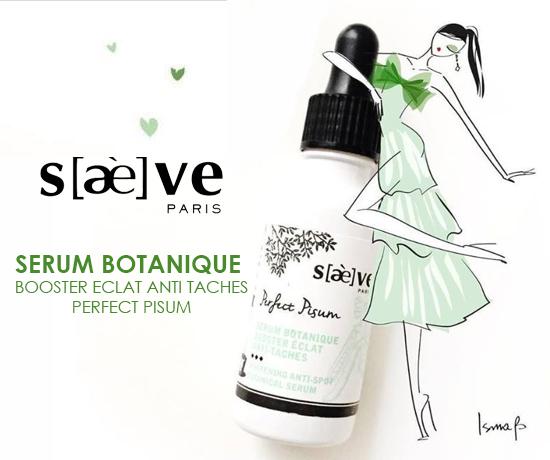 Sérum Botanique Booster éclat anti-tâches perfect pisum de la marque Saeve