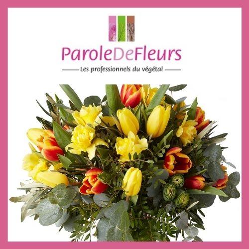 jeu concours bouquet de fleurs Parole de Fleurs